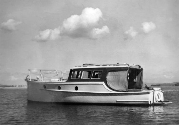 Lady Gay Whangarei Harbour 1960s CM