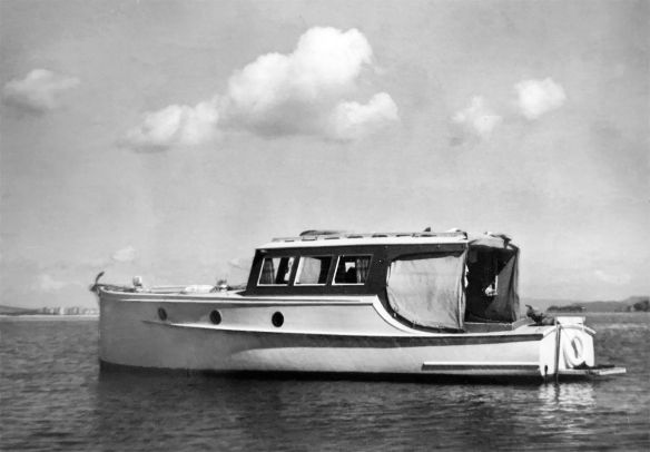 Lady Gay Whangarei Harbour 1960s final