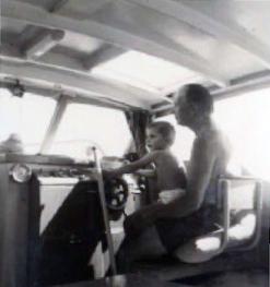 Frank & grandson Glenn